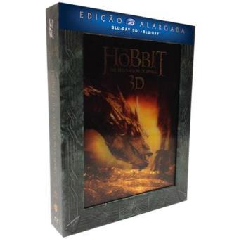 O Hobbit: A Desolação de Smaug - Versão Alargada (Blu-ray 3D + 2D)