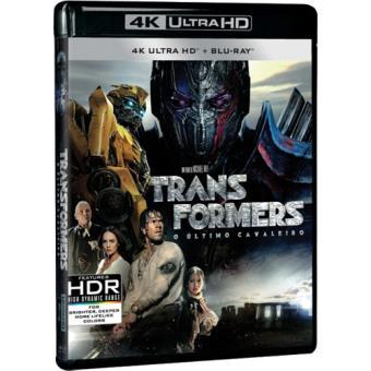 Transformers 5: O Último Cavaleiro (4K Ultra HD + Blu-ray)