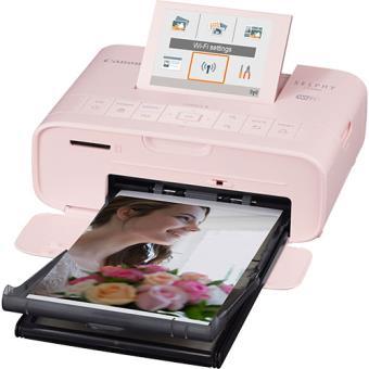 Impressora Fotográfica Canon Selphy CP1300 - Rosa