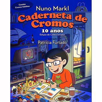 Caderneta de Cromos - 10 Anos
