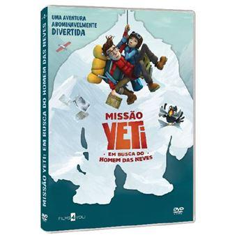 Missão Yeti: Em busca do Homem das Neves - DVD