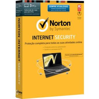 Norton Internet Security 2014 (3 PCs   1 Ano)