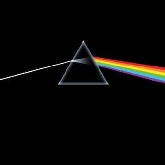 Pink Floyd - Dark Side Of The Moon  - Framed Album Cover
