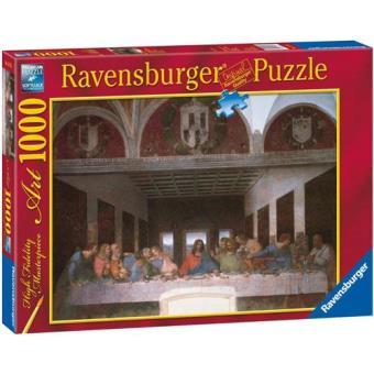 Puzzle Leonardo Da Vinci: A Última Ceia - 1000 Peças