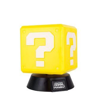 Lâmpada 3D Super Mario Question Block