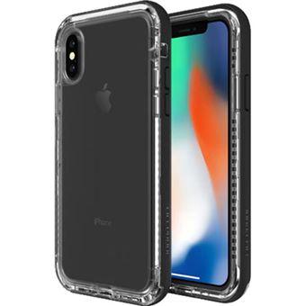 Capa Lifeproof Next para iPhone X - Black Crystal