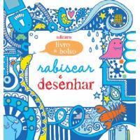 Rabiscar e Desenhar (Livro de Bolso Azul)