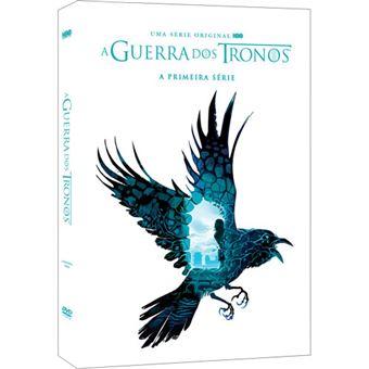 A Guerra dos Tronos - Série 1 - DVD - Game of Thrones Season 1