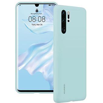 Capa Silicone Huawei para P30 Pro - Azul Claro