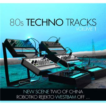 80s Techno Tracks Vol.1 - CD