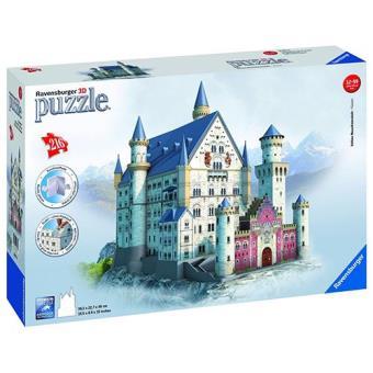 Puzzle 3D Neuschwanstein Castle (216 peças)