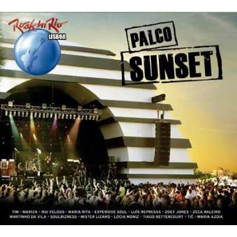 Palco Sunset Rock in Rio