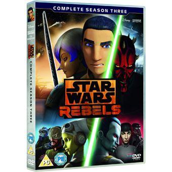 Star Wars Rebels - Season 3 - 4DVD Importação