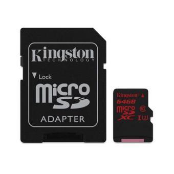 Kingston microSDXC 64GB 90MB/s Classe 10 UHS-I U3