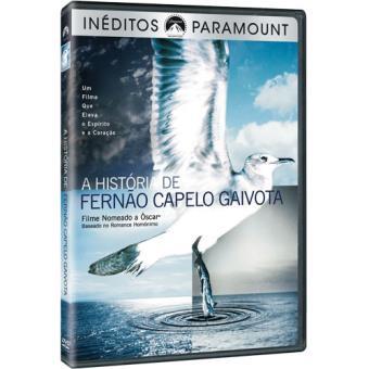 A História de Fernão Capelo Gaivota (DVD)