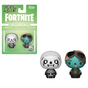 Funko Pint Size Heroes! Fortnite: Skull Trooper & Ghoul Trooper