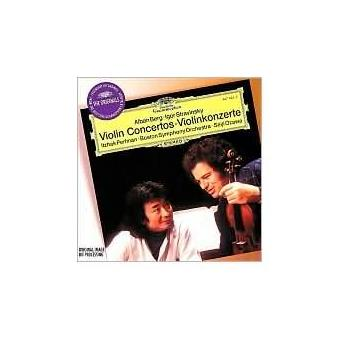 Berg, Stravinsky: Violin Concertos / Ravel: Tzigane