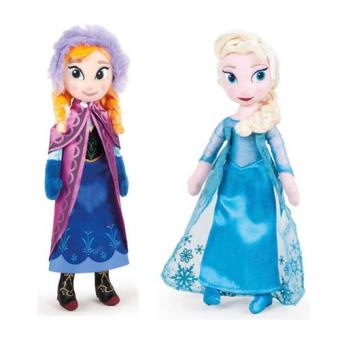 Peluche Princesas Frozen (40cm) (Sortido)