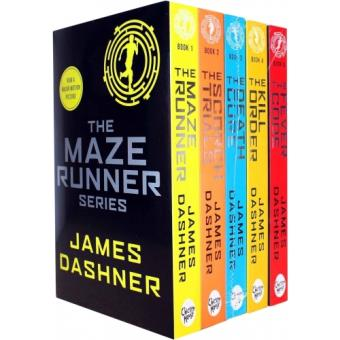 The Maze Runner Series - 5 Books