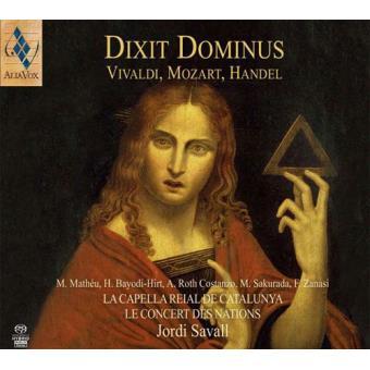 Dixit Dominus | Vivaldi, Mozart, Handel (SACD)
