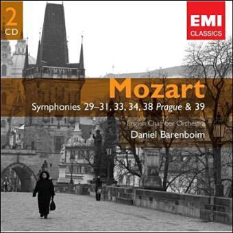 Symphonies 29-31, 33,34,3
