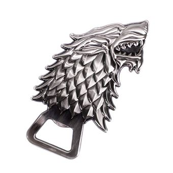 Abre Garrafas Game of Thrones: Stark Wolf