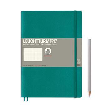 Caderno Pontilhado Leuchtturm Soft A5 Esmeralda