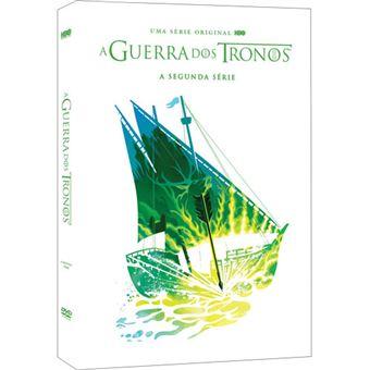 A Guerra dos Tronos - Série 2 - DVD - Game of Thrones Season 2