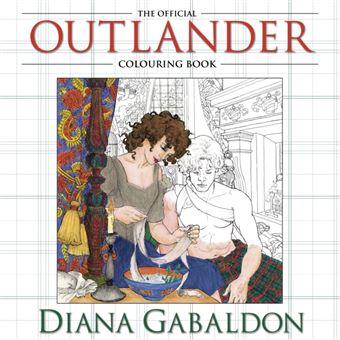 The Official Outlander Colouring Book