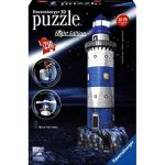Puzzle 3D Lighthouse at Night (216 peças)