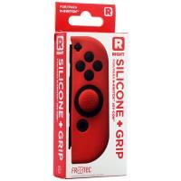 Capa Silicone + Grips Nintendo Switch - Joy-Con Direito Vermelho