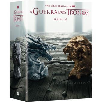Guerra dos Tronos - 1ª, 2ª, 3ª, 4ª, 5ª, 6ª, 7ª Temporadas - DVD - Game of Thrones