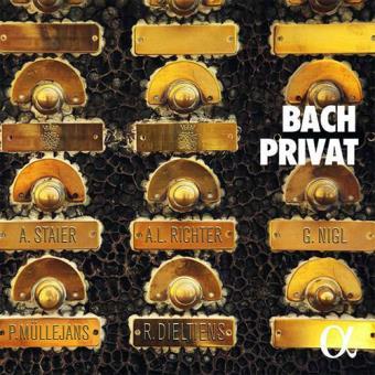 Bach Privat - CD