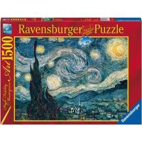 Puzzle Vincent Van Gogh - Noite Estrelada 1500 Peças