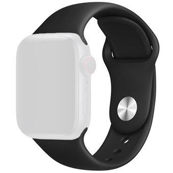 Bracelete Silicone 4-OK para Apple Watch 42mm   44mm - Preto