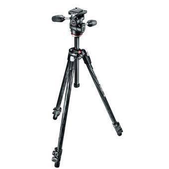 Manfrotto MK290XTC3-3W Digital/câmaras de filmar 3leg(s) Preto tripé