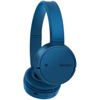 Auscultadores Bluetooth Sony WH-CH500L - Azul