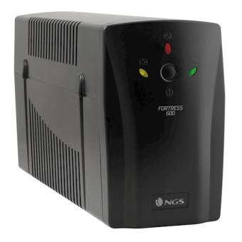 NGS Fortress 600 500VA 2AC outlet(s) Preto UPS