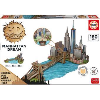 Puzzle 3D Monument Manhattan Dream 160 Peças