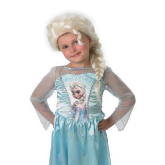 Peruca Infantil Elsa