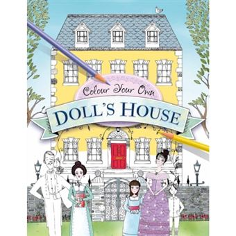 Colour your own doll's house