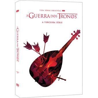 A Guerra dos Tronos - Série 3 - DVD - Game of Thrones Season 3