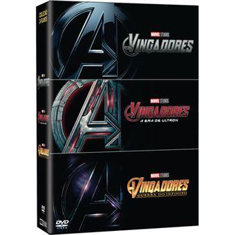 Pack Os Vingadores - 3 DVD