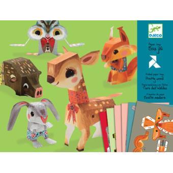 Brinquedos de Papel - Bosque