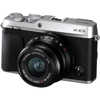 Fujifilm X-E3 + XF 23mm f/2 R WR - Prateado