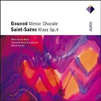GOUNOD-MESSE CHORALE/S-S:MASS OP.4