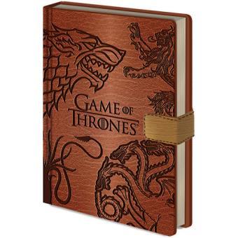 Caderno Pautado Game of Thrones - Sigils A5