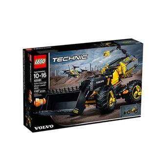 LEGO Technic 42081 Protótipo Volvo do Trator Carregador ZEUX