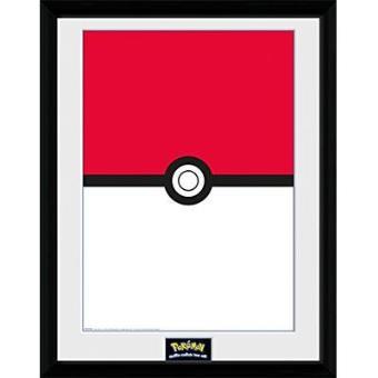 "Pokémon - Poster Emoldurado ""Pokeball"""