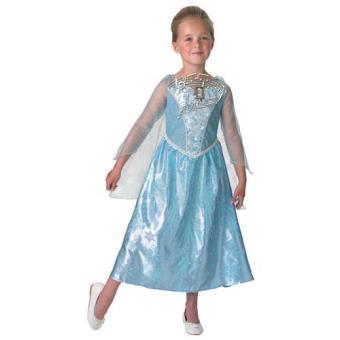 Disfarce Elsa - Musical com Luz (3-4 Anos)